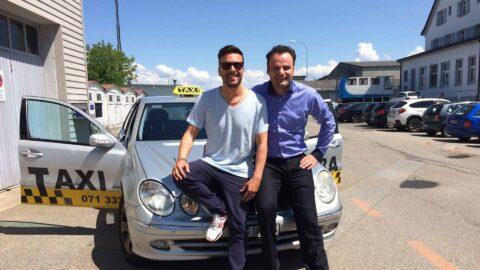 Ziba Taxi Freunde Hype Agentur St. Gallen
